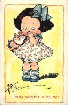 Dolly Dingle ~ GG Drayton Vintage Postcard | Flickr - Photo Sharing!