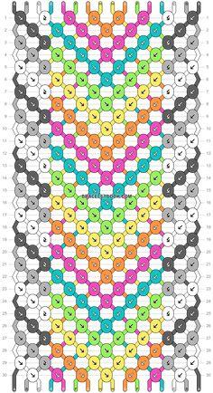Arrow Line, String Bracelet Patterns, Diy Friendship Bracelets Patterns, Alpha Patterns, Bracelet Designs, Bracelet Making, Fun Crafts, Chevron, Crafty