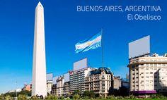 Estudia en Buenos aires y visita el Obelisco.