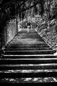 Street Photography / Toronto Photographer / Wilson Ho Photography / Taiwan / Stairs / www.wilsonhophotography.com Toronto Photographers, Taiwan, Railroad Tracks, Street Photography, Wander, Stairs, Stairway, Staircases, Ladders