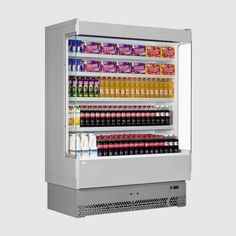 Get the Interlevin Multideck from FFD - perfect general purpose display offering optimum temperatures at great prices! Commercial Catering Equipment, Beverage Refrigerator, Catering Business, Commercial Kitchen, Adjustable Shelving, Display, Range, Refrigerators, Grey
