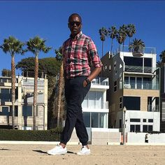 - villas on the beach -  Page. 11  Madras Shirt / @Jcrew D-ring Belt / @Jcrew Slim Chinos / @Bonobos Laceless Sneakers / @Converse Time Piece / @AppleMusic Lowry Sunglasses / @WarbyParker
