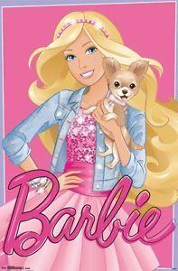 Barbie - Estilo Poster Print x Barbie Painting, Barbie Drawing, Barbie E Ken, Barbie Paper Dolls, Barbie Puppy, Barbie Cartoon, Barbie Images, Walt Disney, Barbie Movies