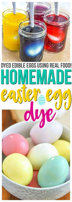 Easter egg dye learn how easy it is to make your own easter egg homemade easter egg dye video forumfinder Image collections