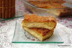 Tarta de queso envuelta en croissant