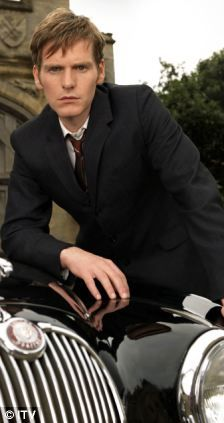 Famous footsteps: Shaun Evans (Endeavor) is stepping into John Thaw's shoes to play the younger version of Colin Dexter's iconic character, Inspector Morse.
