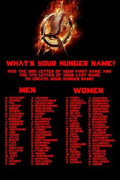 Discover your Hunger Games name. Also comment to tell me what yours is! :D mines Merope Yule - Anime Star Hunger Games Names, Hunger Games Catching Fire, Hunger Games Trilogy, New Names, Cool Names, What Is My Name, Scenario Game, Birthday Scenario, Yule