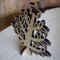 Mini Wooden Christmas Tree