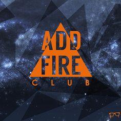 #addfire #club #logo #graphic www.bembureda.com