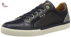 Pantofola d'Oro  Levigno Uomo Low, chaussons d'intérieur homme - noir - Schwarz (Black), 46 - Chaussures pantofola doro (*Partner-Link)