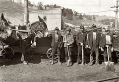Miners near Grafton, WV In 1908--Remember The Miners