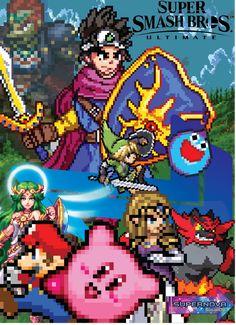 Nintendo Super Smash Bros, Cartoon Wallpaper, Deviantart, Sprites, Crossover, Illustration, Audio Crossover, Fairies, Illustrations
