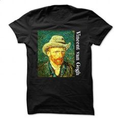 Vincent van Gogh Self Portrait Painting T Shirt - #sweatshirts for men #red sweatshirt. GET YOURS => https://www.sunfrog.com/LifeStyle/Vincent-van-Gogh-Self-Portrait-Painting-T-Shirt-91643497-Guys.html?60505