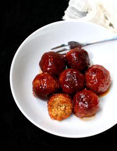 Vegan Barbecue Meatballs - holycowvegan.net