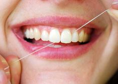 Floss your teeth before brushing. This is so that plaque from the outside and inside surfaces of the teeth gets dislodged too be killed when you brush. #floss #teeth #dentist #brush #smile ~ http://www.mychandlerdentists.com/
