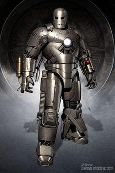 IRON MAN: Designs and Illustrations