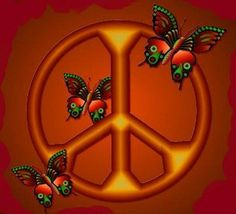 ✪☯☮ॐ American Hippie Psychedelic Art Quotes ~ Peace Sign