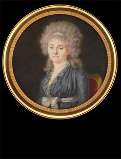 Claude Alexandre Bélin    Madame Boucher, née Gérardot    1796