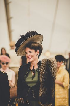 HAUTE COUTURE TOPS THE BILL AT REVIVAL'S 'BEST DRESSED' COMPETITION | Goodwood Road & Racing