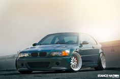 BMW E46 M3 on Work Brombacher wheels