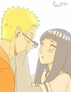 """L-let me help with that...N-Naruto-kun.."" #Naruhina"