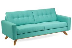 Decor Dare: Commit To A Brazenly Bold Couch #refinery29  http://www.refinery29.com/best-couches#slide5