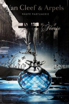 The Féerie ad by Van Cleef & Arpels