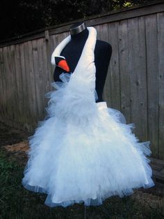 Bjork swan dress costume - sadly this one is sold