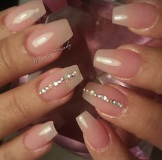 Perfect clear set with a little bling
