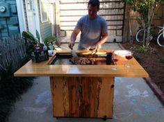 Backyard Hibachi Cooking Grilling Bbqpit Cajun