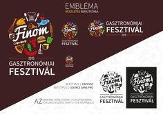 Finom Gasztro Feszt logo Photoshop Illustrator, Illustration, Illustrations