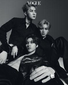 WayV with Vogue Korea December 2019 issue Lucas Nct, Vogue Korea, Vogue Spain, Capitol Records, Nct 127, Nct Debut, Hue, Avengers, Johnny Seo