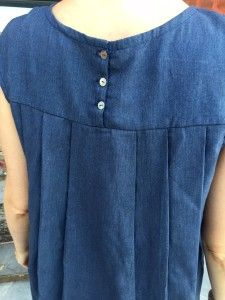 Aime comme Martine en chambray the sweet mercerie 6