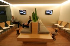 Reception seating area - Dr. Anthony Maloof