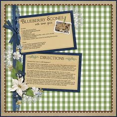 recipe cards Archives - Digital Scrapbooking Blog for Layouts ...
