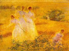 Phillip Leslie Hale - Girls in Sunlight