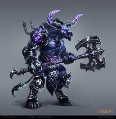 homm6 Minotaur Guard by rawwad.deviantart.com on @deviantART