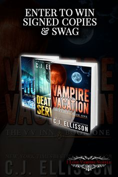 Win Signed Copies & Swag from NY Times Bestselling Author C. J. Ellisson http://www.ilovevampirenovels.com/giveaways/win-signed-copies-swag-author-cj-ellisson/?lucky=420571