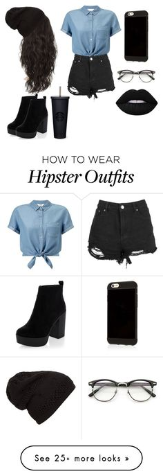 """Hipster part 2"" by rissacoleman on Polyvore featuring Miss Selfridge, New Look and Lime Crime"