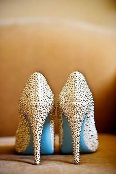 Louboutin special edition - something blue