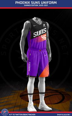 Nba Uniforms, Basketball Uniforms, Basketball Drills, Basketball Jersey, Best Nba Jerseys, 2013 Nba Finals, Jersey Outfit, Knee Up, Phoenix Suns