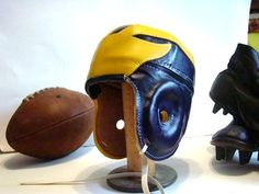 Old School - Vintage Leather Helmet