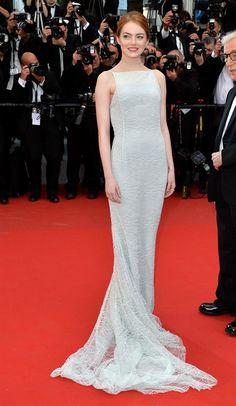 Festival di Cannes 2015 Emma Stone in Dior Haute Couture