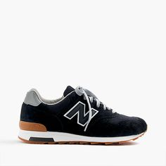 J.Crew Gift Guide: men's New Balance® for J.Crew 1400 sneakers in black.
