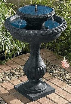 Outdoor+Bird+Baths | Caring for Your Bird Bath Outdoor Fountain