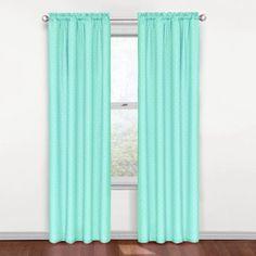 Eclipse Curtains Kids Rod Pocket Single Blackout Curtain Panel