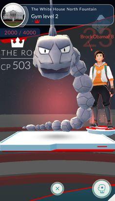 He actually did it [Pokemon Go]