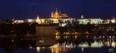 Prague Castle over the Vltava, Prague Taken Summer 2015