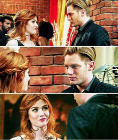 #Clace Clary And Jace, Family Channel, Jace Wayland, Shadowhunters The Mortal Instruments, Clace, Abc Family, Vampire Diaries The Originals, Shadow Hunters, Romantic Couples