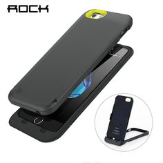 Cheap Battery Charger Cases, Buy Directly from China Suppliers:ROCK Power Stand Case For iPhone 6 Power Bank MFI Certified Charing Case with Phone Holder Battery Charger Bugatti Chiron Interior, Iphone 6, Hp Android, Phone Charger Holder, Walpaper Iphone, Funny Iphone Cases, Galaxy Phone, Rock, Happy Shopping